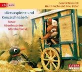 Geschichten mit Herrn Fuchs und Frau Elster - Kreuzspinne und Kreuzschnabel!, 3 Audio-CDs
