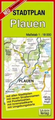 Doktor Barthel Stadtplan Plauen