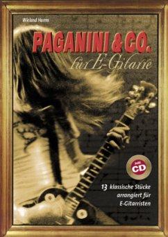 Paganini & Co. für E-Gitarre, m. Audio-CD