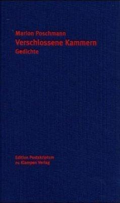 Verschlossene Kammern - Poschmann, Marion