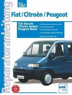 Fiat Ducato / Citroen Jumper / Peugeot Boxer Baujahre 1994 resp. 2000 bis 2002