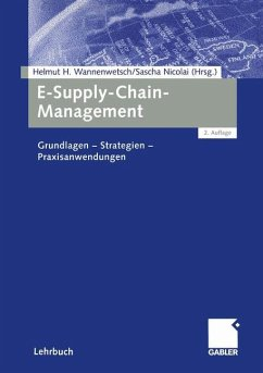 E-Supply-Chain-Management - Hrsg. v. Helmut H. Wannenwetsch u. Sascha Nicolai