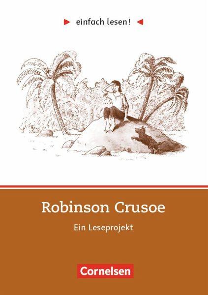 einfach lesen! Robinson Crusoe. Aufgaben und Übungen - Defoe, Daniel