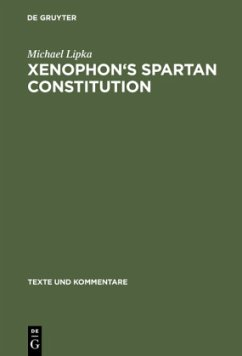 Xenophon's Spartan Constitution - Lipka, Michael