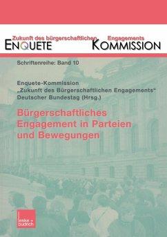 Bürgerschaftliches Engagement und Politik - Enquete-Kommission (Hrsg.)