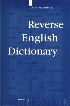 Reverse English Dictionary - Muthmann, Gustav