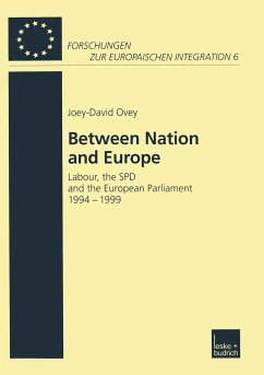 Between Nation and Europe - Ovey, Joey-David