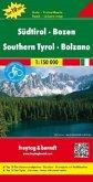 Freytag & Berndt Auto + Freizeitkarte Südtirol, Bozen / Southern Tyrol, Bolzano