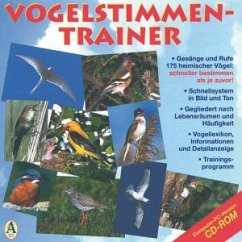 Vogelstimmen-Trainer, 1 CD-ROM