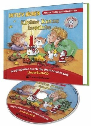 Kleine Kerze leuchte, m. Audio-CD - Jöcker, Detlev; Krenzer, Rolf
