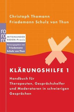 Klärungshilfe - Thomann, Christoph; Schulz von Thun, Friedemann