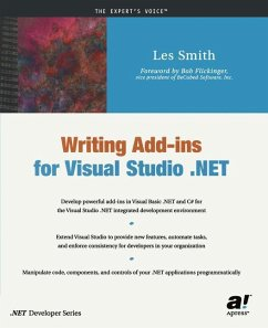 Writing Add-ins for Visual Studio .NET - Smith, Les
