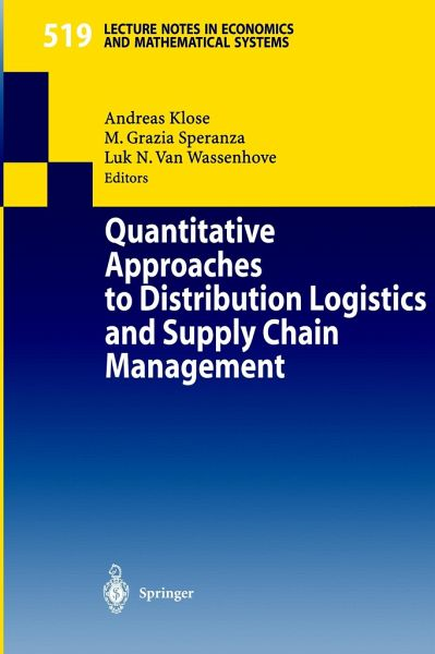 Logistics and Supply Chain Management ten degree