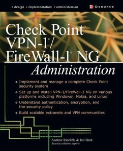 Check Point VPN-1/ FireWall-1 NG Administration - Ratcliffe, Andrew