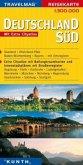 Travelmag Reisekarte Deutschland Süd / Travelmag Reisekarten