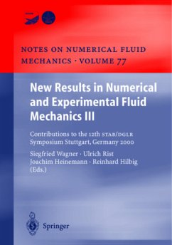 New Results in Numerical and Experimental Fluid Mechanics III - Wagner, Siegfried / Rist, Ulrich / Heinemann, Joachim / Hilbig, Reinhard (eds.)