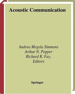 Acoustic Communication - Simmons, Andrea / Popper, Arthur N. / Fay, Richard R. (eds.)