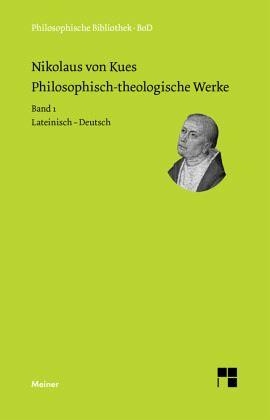 philosophisch theologische werke in 4 b nden von nikolaus. Black Bedroom Furniture Sets. Home Design Ideas