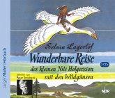 Die wunderbare Reise des kleinen Nils Holgersson mit den Wildgänsen, 3 Audio-CDs