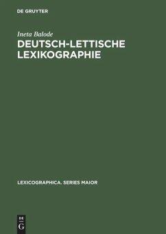 Deutsch-lettische Lexikographie