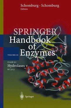 Class 3.1 Hydrolases V - Schomburg, Dietmar / Schomburg, Ida (eds.)