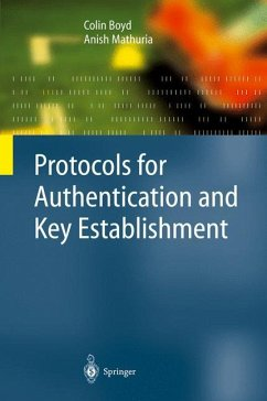 Protocols for Authentication and Key Establishment - Boyd, Colin; Mathuria, Anish
