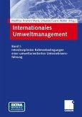 Internationales und interdisziplinäres Umweltmanagement in Zukunftsmärkten 1