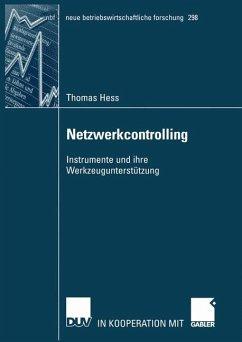Netzwerkcontrolling - Hess, Thomas