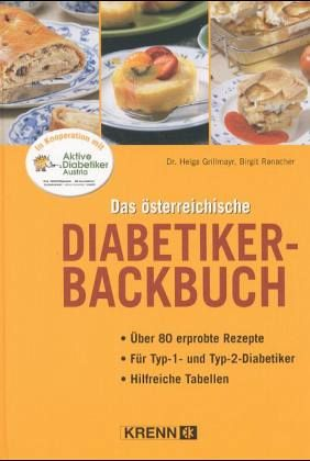 Österreichische Diabetiker-Backbuch neu | Hubert Krenn Verlag