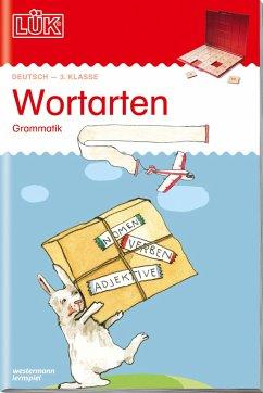 LÜK. Grammatik für die Grundschule. Wortarten ab Klasse 3 - Wagner, Christiane; Judith, Heiko