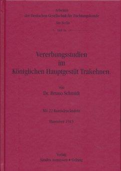 Vererbungsstudien im Königlichen Hauptgestüt Tr...