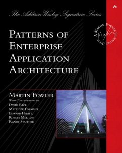 Patterns of Enterprise Applications Architecture
