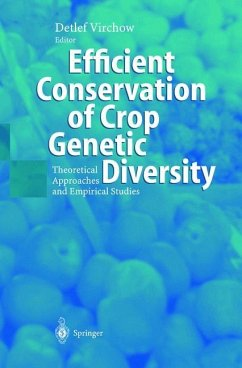 Efficient Conservation Of Crop Genetic Diversity - Virchow, Detlef (ed.)