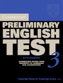 Cambridge Preliminary English Test 3. Student's Book with answers. Lower-Intermediate