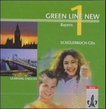 Schülerbuch-Audio-CD, 5. Schuljahr / Green Line New, Ausgabe für Bayern Bd.1