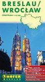 Höfer Stadtplan Breslau; Wroclaw