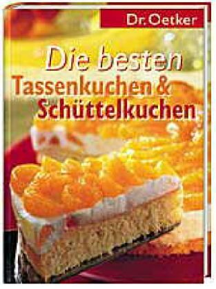 Die Besten Tassenkuchen Schuttelkuchen Von Oetker Portofrei Bei