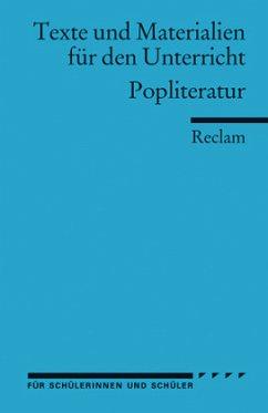 Pop-Literatur - Frank, Dirk (Hrsg.)