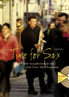 Time for Sax, m. 2 Audio-CDs - Becker, Rolf