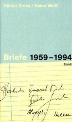 Briefe 1959-1994 - Grass, Günter; Wolff, Helen