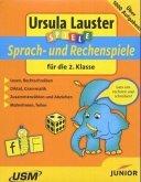 Sprach- und Rechenspiele für die 2. Klasse, 1 CD-ROM