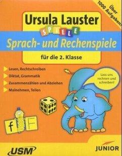 Sprach- und Rechenspiele für die 2. Klasse, 1 C...