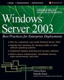 Windows Server 2003: Best Practices for Enterprise Deployments