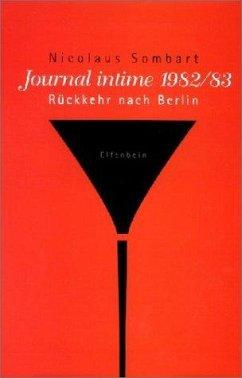 Journal intime - Sombart, Nicolaus