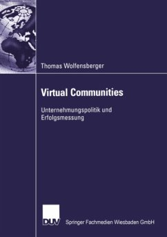 Virtual Communities - Wolfensberger, Thomas