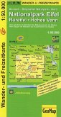 GeoMap Karte Nationalpark Eifel, Rureifel, Hohes Venn