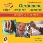 Soundtrack-Spiel Geräusche, 1 Audio-CD + 30 Bildkarten