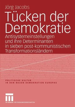Tücken der Demokratie - Jacobs, Jörg