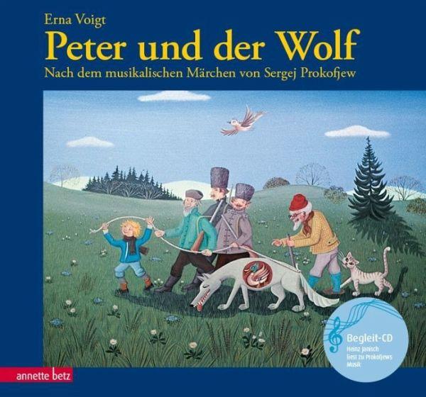 Peter Und Der Wolf Mit Cd Von Erna Voigt Buch Buecher De border=