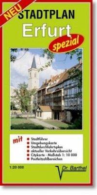Stadtplan Erfurt - spezial